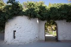 Entrada al jardín - Casa Palacio de los Condes de Antillón