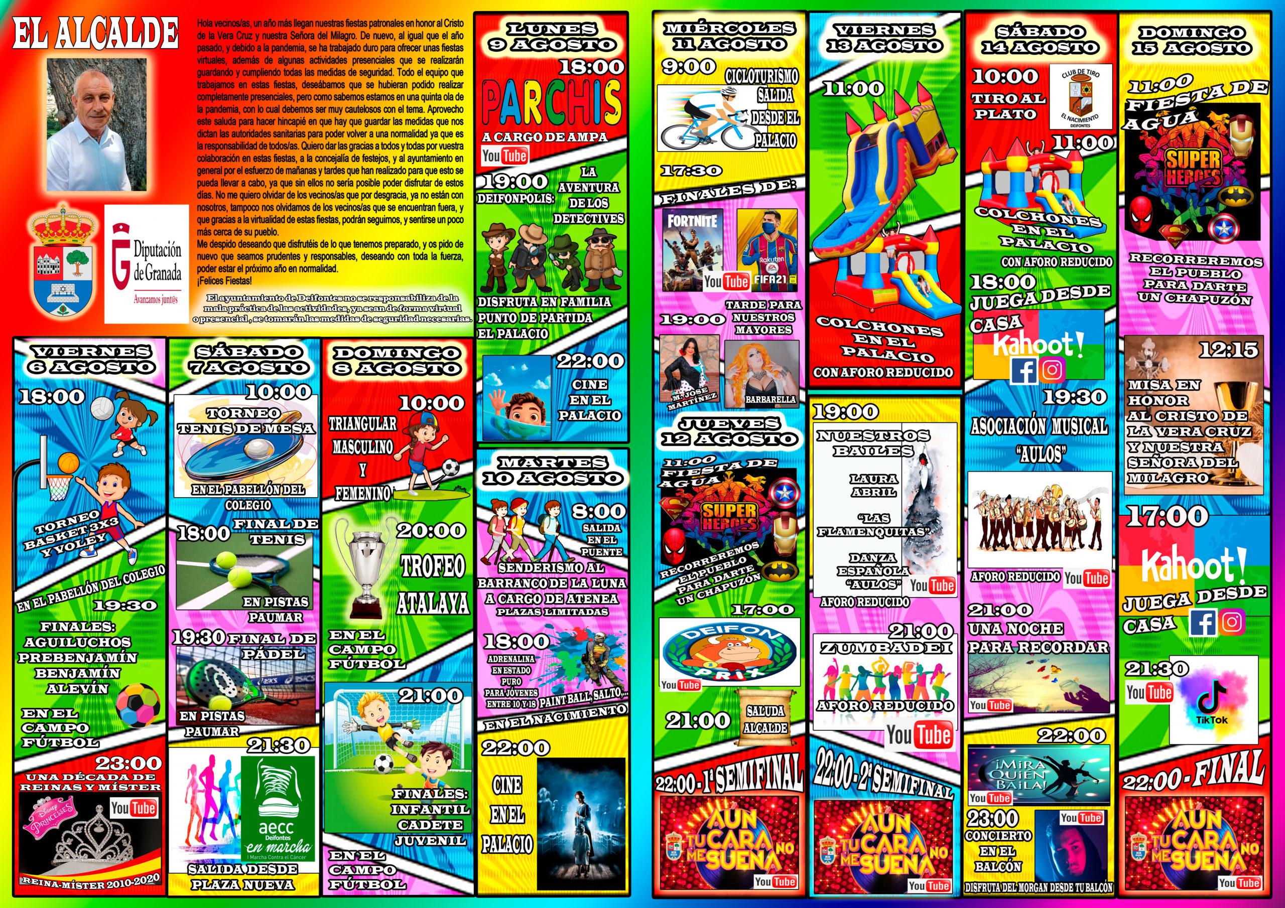 Programa Fiestas Virtuales 2021